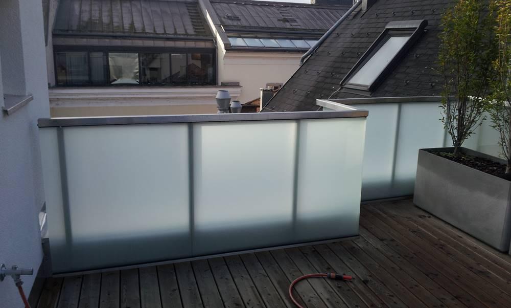 Balkongelander Terrassengelander Ma Metall